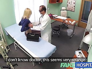 FakeHospital Skinny blonde takes doctors advice