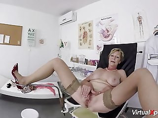 busty mature fucked by her doctor
