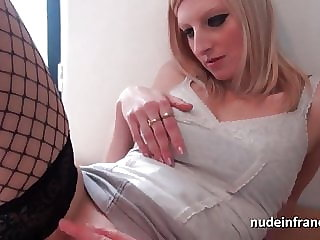 Gorgeous french blonde babe analized and double penetrated