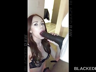 BLACKEDRAW Euro Girl Finally Gets To Try Out Mandingo