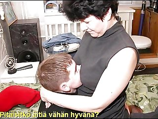 Slideshow: Mom Liza with Finnish Captions