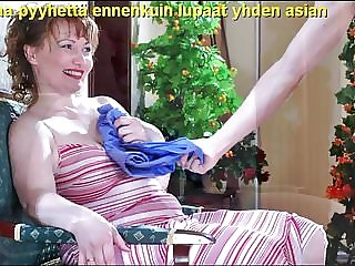 Slideshow with Finnish Captions: Mom Flo 3