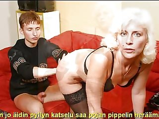 Slideshow with Finnish Captions: Mom Olga 1