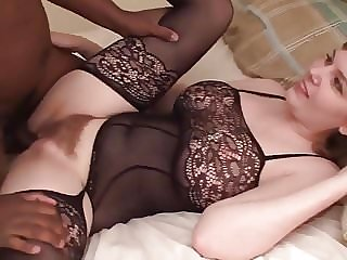 Black creampie for a young lovely wife - R4B