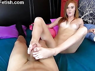 Long, Sensual, Teasing Footjobs