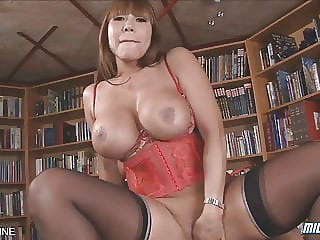 Brunette Asian MILF Gets Pounded in AMAZING POV Scene!