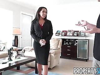 PropertySex - Busty real estate agent uses sex to sell house