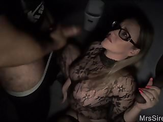 Thick Wife at the Gloryhole