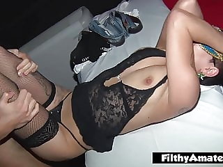 Orgy with 2 wife a priest, anal fisting and glory hole