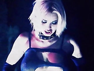 REBEL YELL - softcore porn music video blonde goth big tits