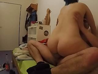 Saphira fucked in the flat Part 2