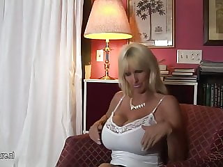 Check out huge mature boobs coming at you