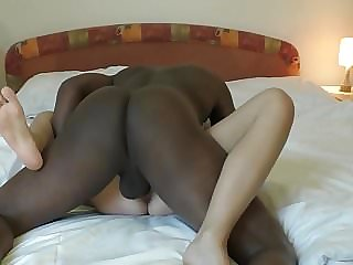 Young Wife Fucked by Black Buddy