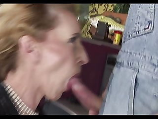 Crazy Hungarian Granny Likes Anal