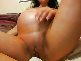 Pregnant Mila needs some solo time for pleasure