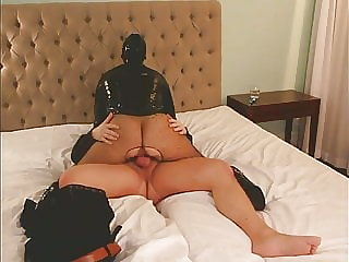 Latex Belle -  Sucking and fucking at our romantic getaway
