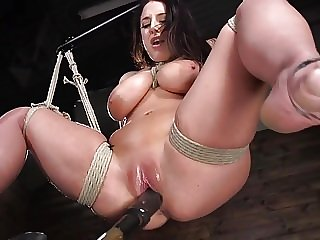Legendary Angela White gets Tied!
