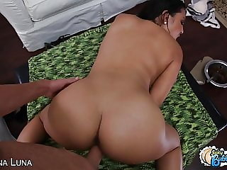 Sexy Big Booty Latina Maid Get Ass Loaded With Cum In POV