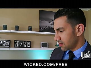 Wicked - Sexy Asian maid Kaylani Lei cleans up her client