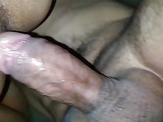 she like to cum over my dick
