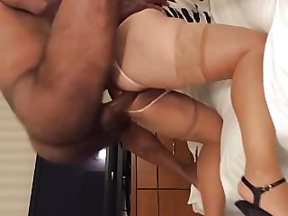 Married Mexican mom fucked by Craigslist BBC