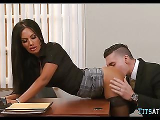 Getting some Hot Pussy at work