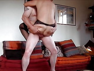 49yo MILF fucks for my cum on her ass