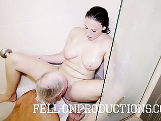 Melanie Hicks in daddy Spying on Me