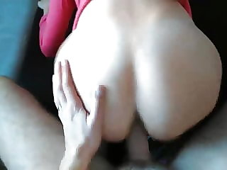 Slovenian wife getting fucked doggy style in the morning